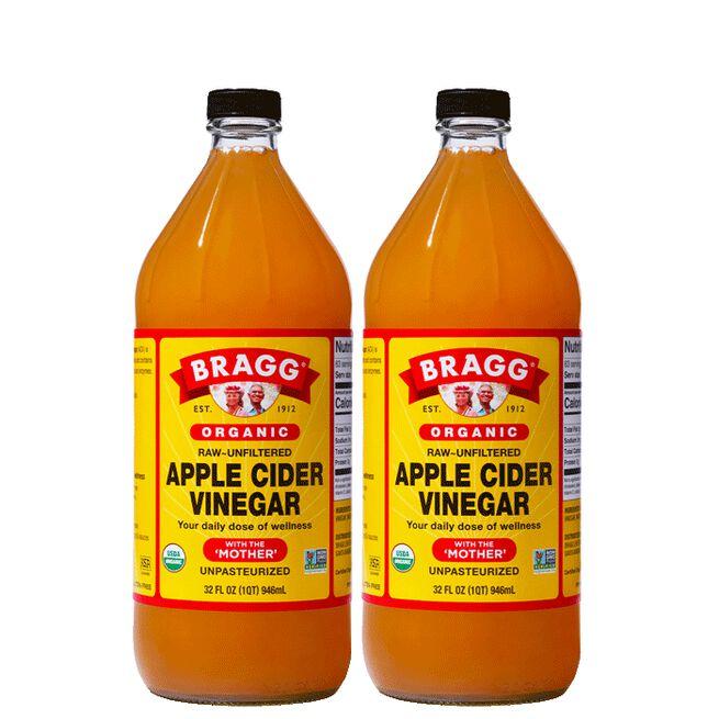 2 x Bragg Apple Cider Vinegar EKO, 946 ml