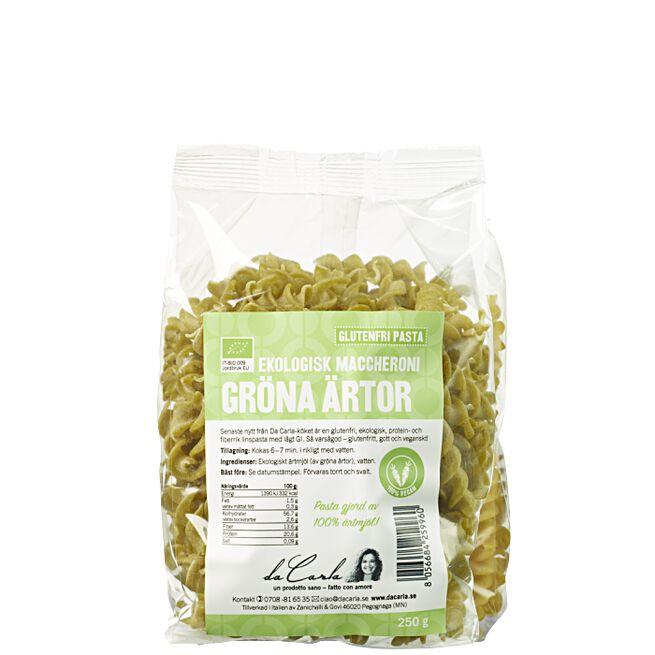 Ärtpasta Ekologisk Fusilli pasta på ärtor