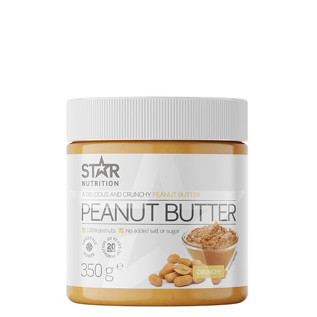 Peanut Butter, Crunchy, 350 g