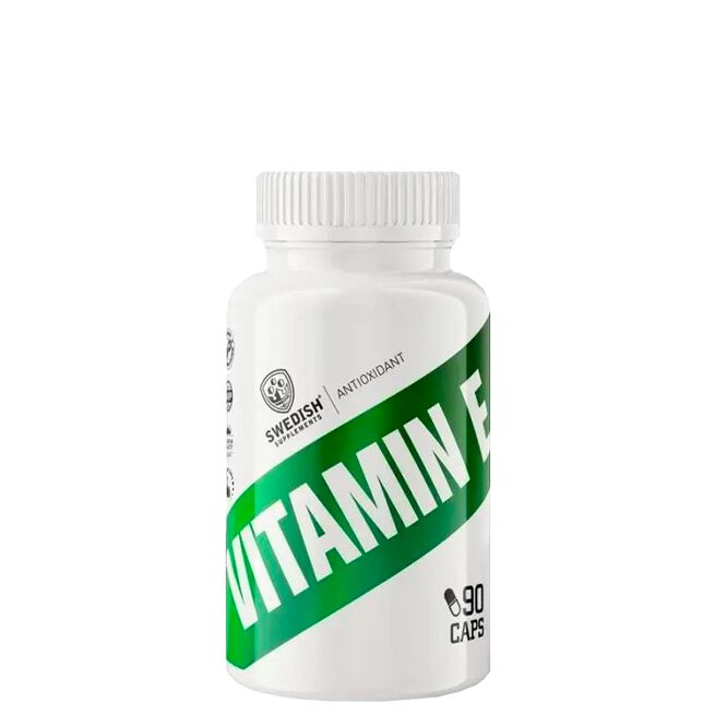 Swedish Supplements Vitamin E, 90 caps