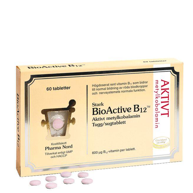 BioActive B12 60 sugtabletter Pharma Nord