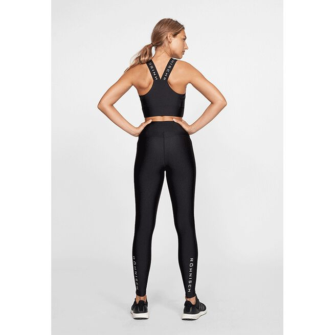 Shiny Kay Sports Bra, Black, L