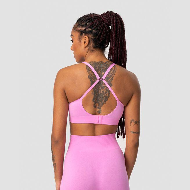 ICANIWILL Define Adjustable Sports Bra Pink Melange