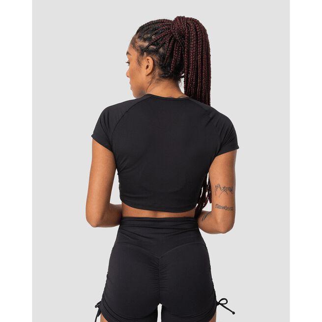 Scrunch T-shirt, Black, M