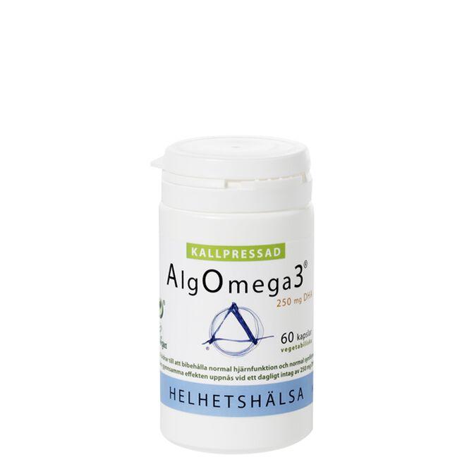 AlgOmega3® Kallpressad, 60 kapslar