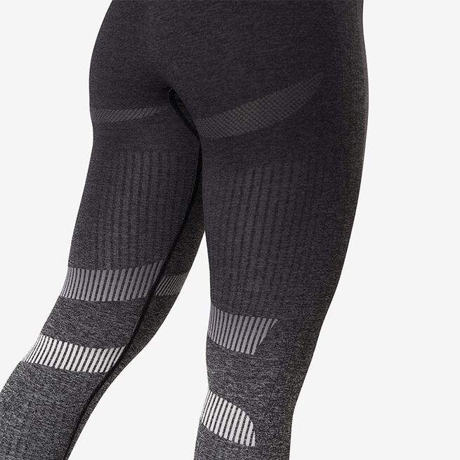 ICANIWILL Ombre 7/8 Seamless Tights, Graphite Melange