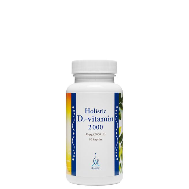 D3-vitamin, 2000 IE, 90 kapslar