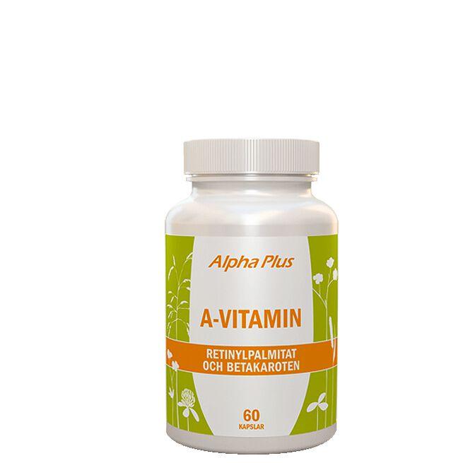 A-vitamin 60 kapslar Alpha Plus