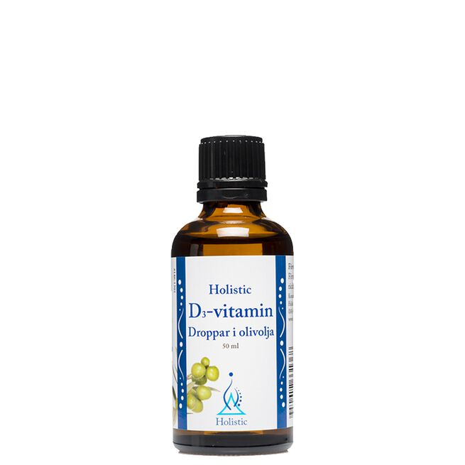 D3 vitamindroppar Holistic