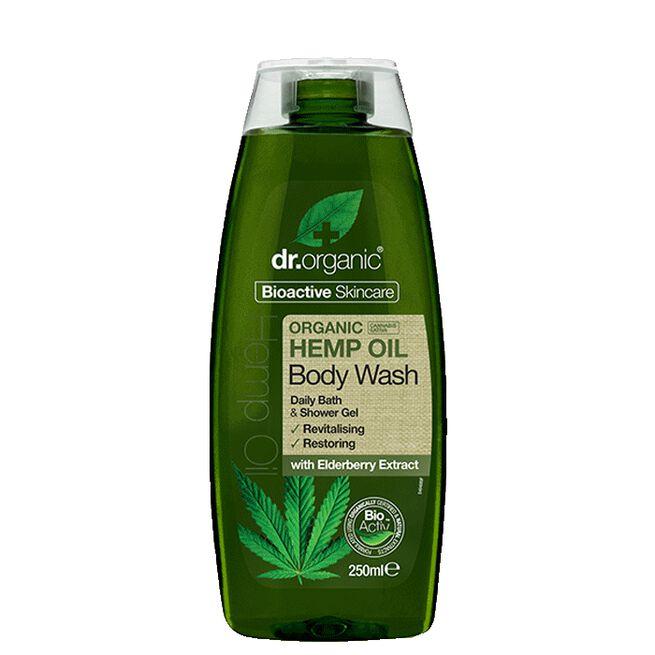Hemp Oil Body Wash, 250 ml