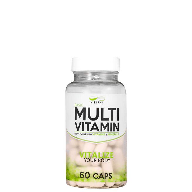 Viterna Multivitamin Basic, 60 caps