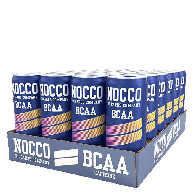 24 x NOCCO BCAA, 330 ml, Cloudy Soda
