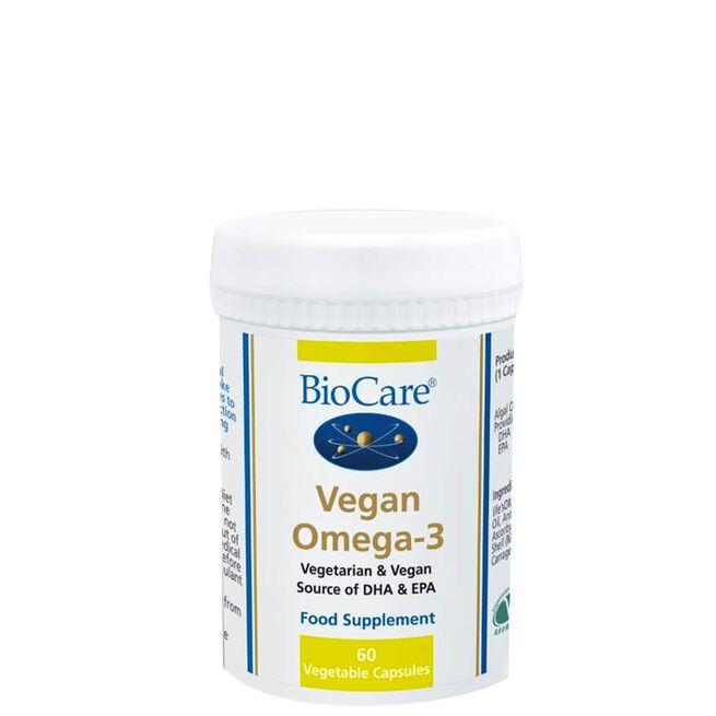 BioCare Vegan Omega-3, 60 kapslar