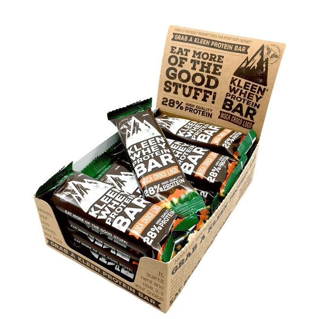16 x Whey Protein Bar - Moca Choco Loco, 60 g
