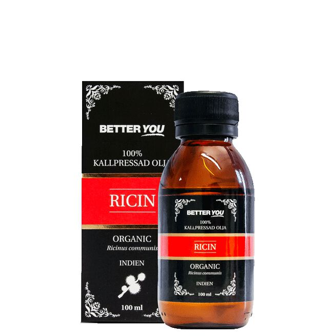 Ricinolja EKO Kallpressad, 100 ml Better You