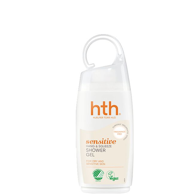 HTH Sensitive Shower, 250 ml