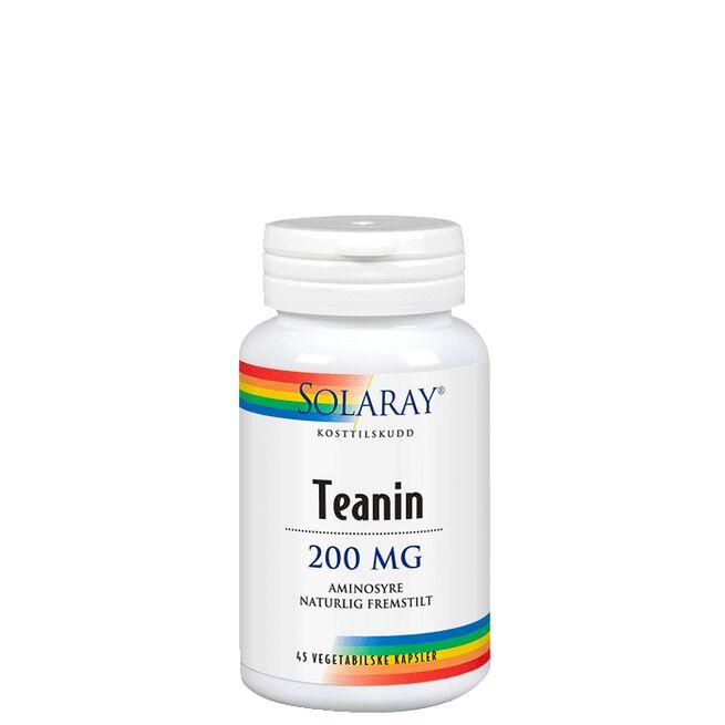 Teanin, 45 kapslar Solaray