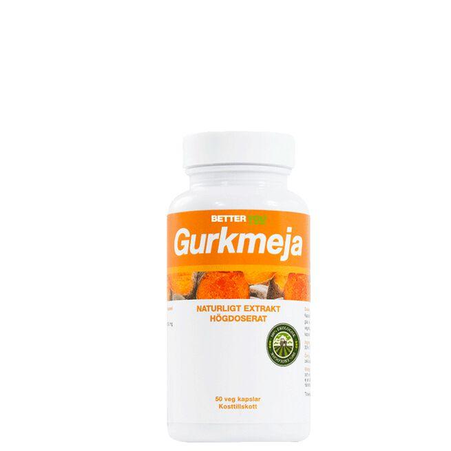 Gurkmeja, 50 veg. kapslar Better You