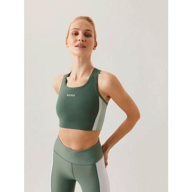 Seasonal Solid Shelby Medium Top, Duck Green, 34