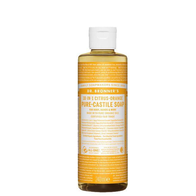 Citrus Orange Liquid Soap, 240 ml