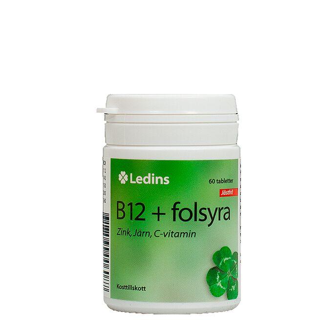 B12+Folsyra Ledins
