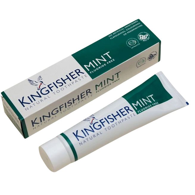 Toothpaste, Mint Flouride free, 100 ml