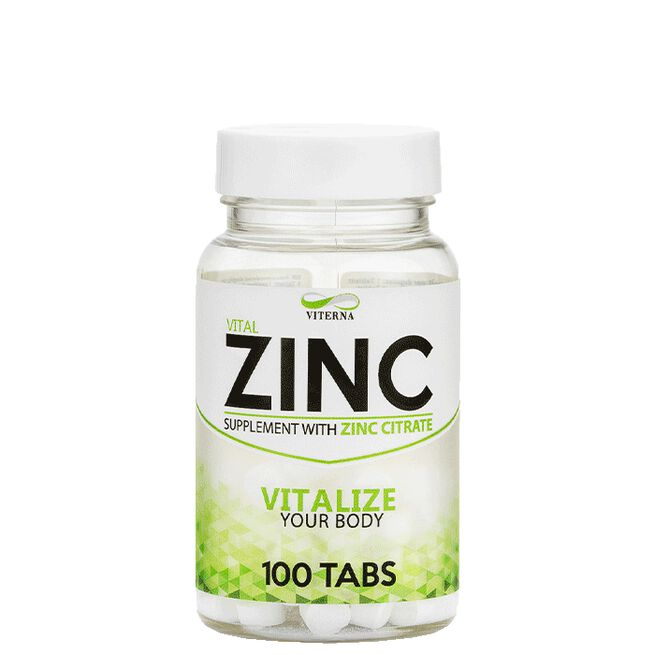 Zinc, 100 tabs