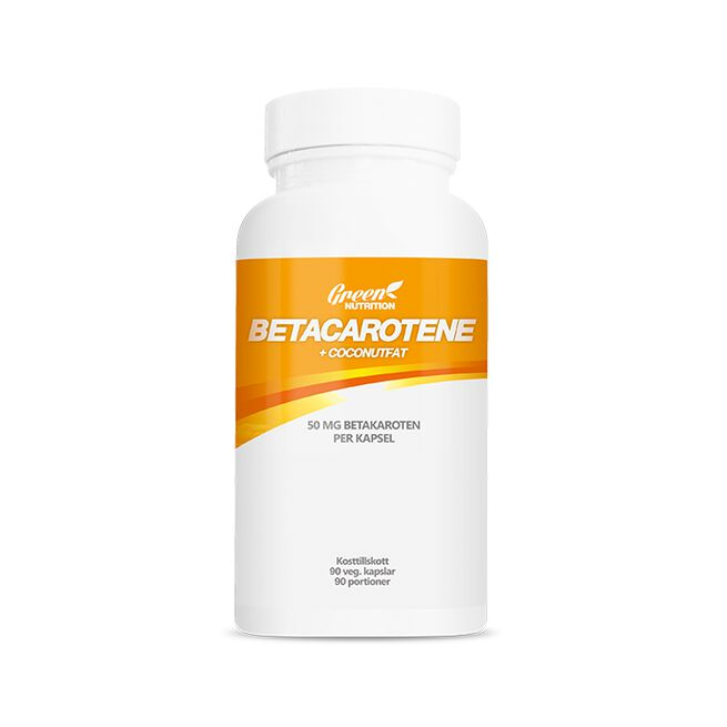 Betacarotene 50 mg+Coconut fat, 90 kapslar