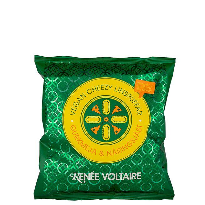 Vegan Cheezy Linspuffar, 60 g