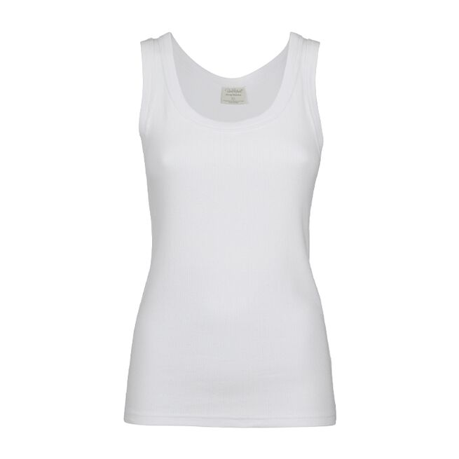 Pierre Robert Cotton Rib Singlet Jenny Skavlan, Natural