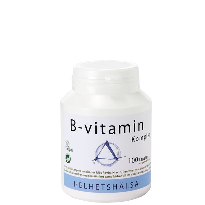 B-vitamin komplex Helhetshälsa