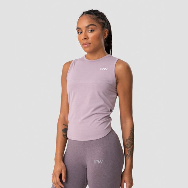 ICANIWILL Empowering Open Back Tank, Mauve