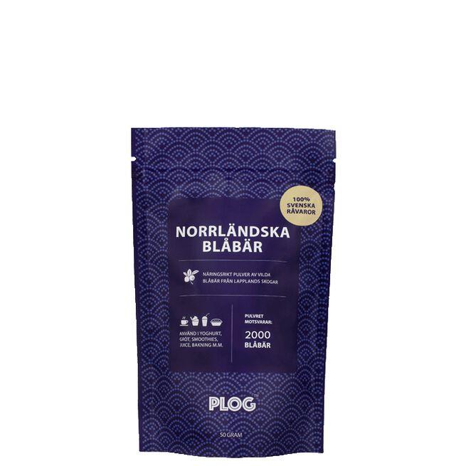 PLOG Norrländska Blåbär, 50 g