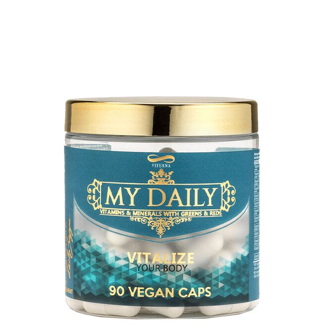 Viterna My Daily Vitamins & Minerals By Laila Bagge, 90 caps