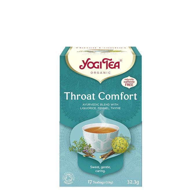 Throat Comfort, 17 tepåsar