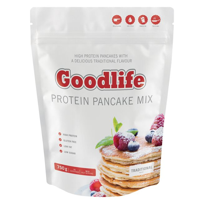 Goodlife Protein Pancakes 750 g, Traditional flavour