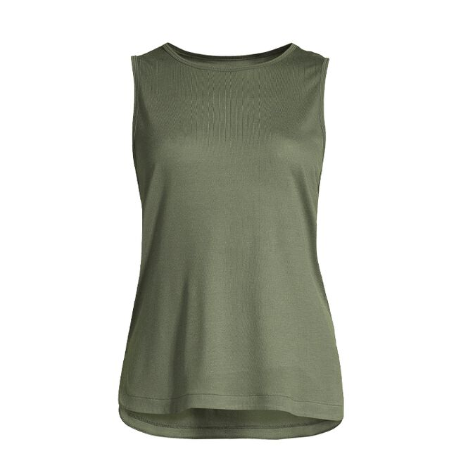 Casall Drapy Muscle Tank Northern Green