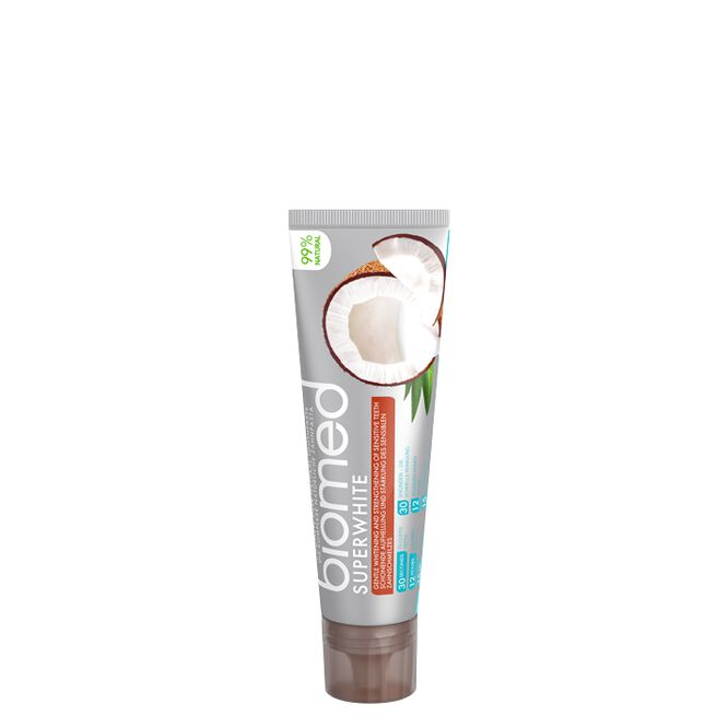 Biomed Superwhite tandkräm, 100 g