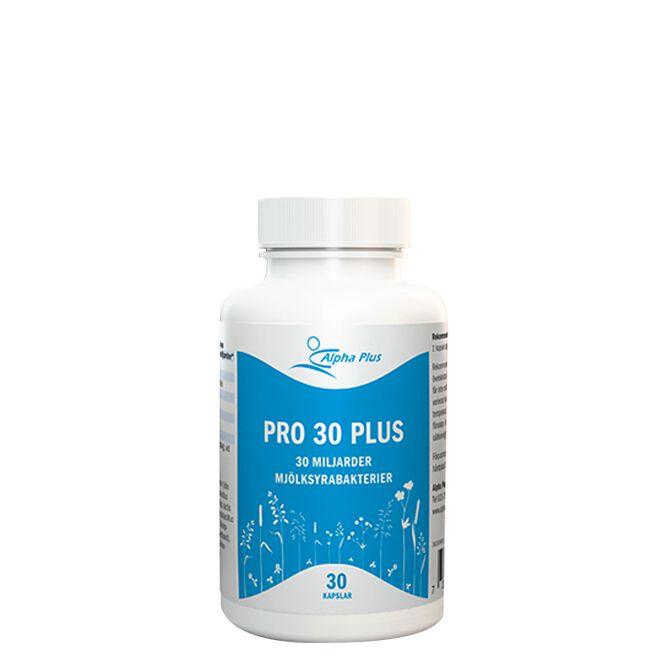 Pro 30 Plus, 30 kapslar