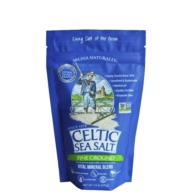 Celtic Sea Salt Fine Ground, 227 g