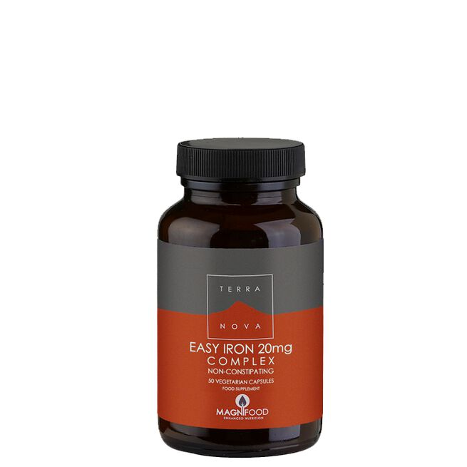 Vegan Easy Iron 20 mg Complex, 50 kaps