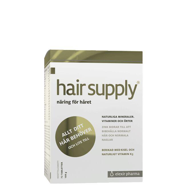 Hair Supply, 72 tabletter