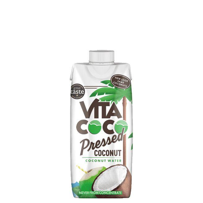 Kokosvatten med pressad Kokos, 330 ml