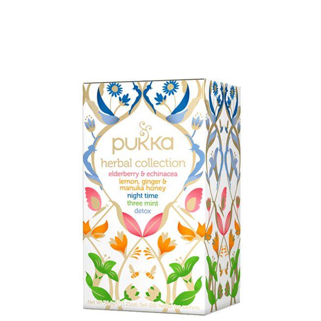 Te Herbal Collection, 20 tepåsar Pukka