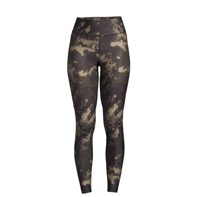 Printed Sport Tights, Boost Green, 34