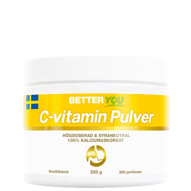C-vitamin Pulver, 250 g Better You