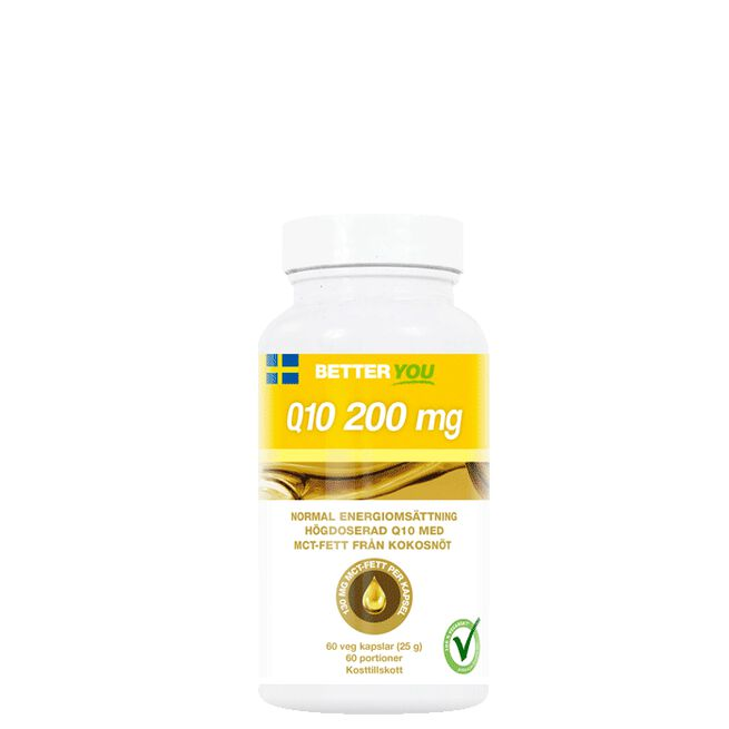 Q10 200 mg, 60 kapslar Better You