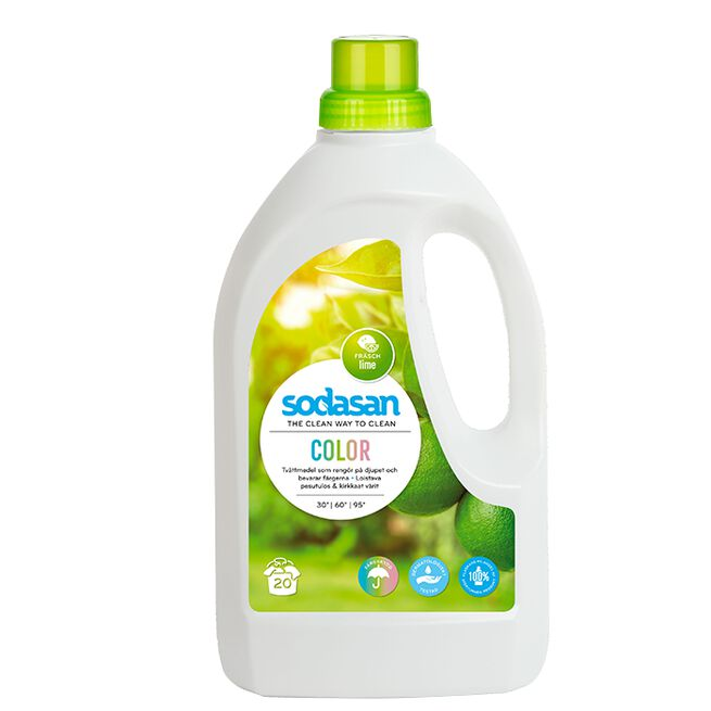 Sodasan Tvättmedel Lime, 1,5 L