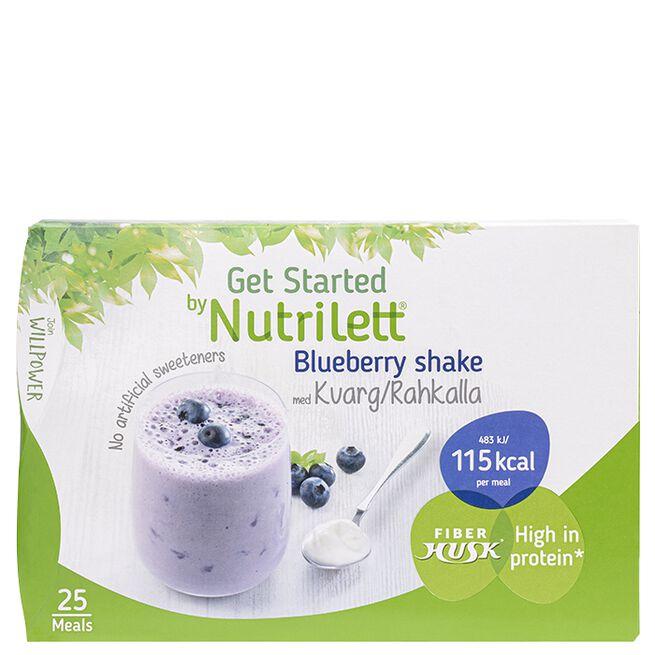 Blueberry Shake Kvarg, 25-pack
