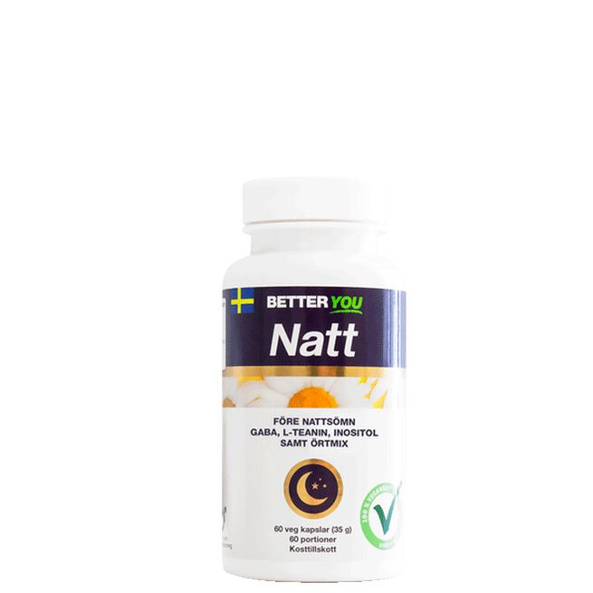 Natt, 60 kaps Better You